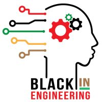 Black in Engineering Color Logo